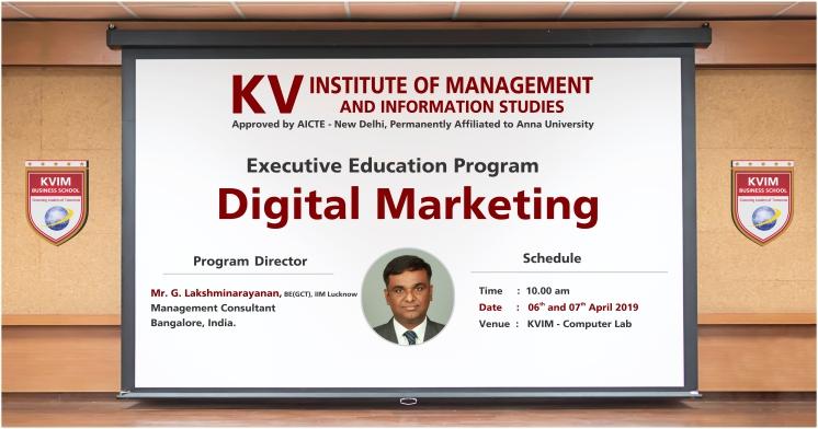 KVIMIS digital marketing EED image - Coimbatore