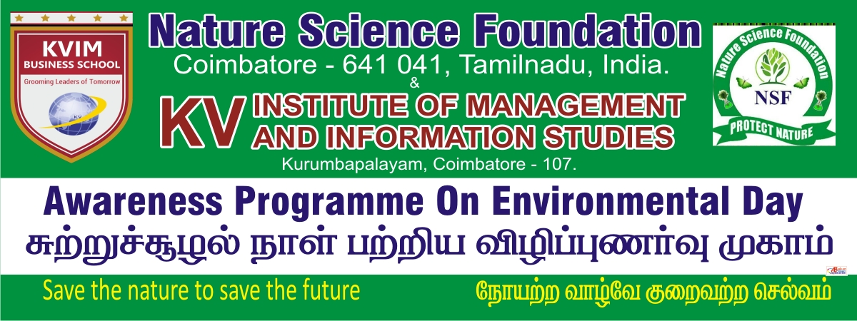 KVIM-Awareness programme on Environmental day