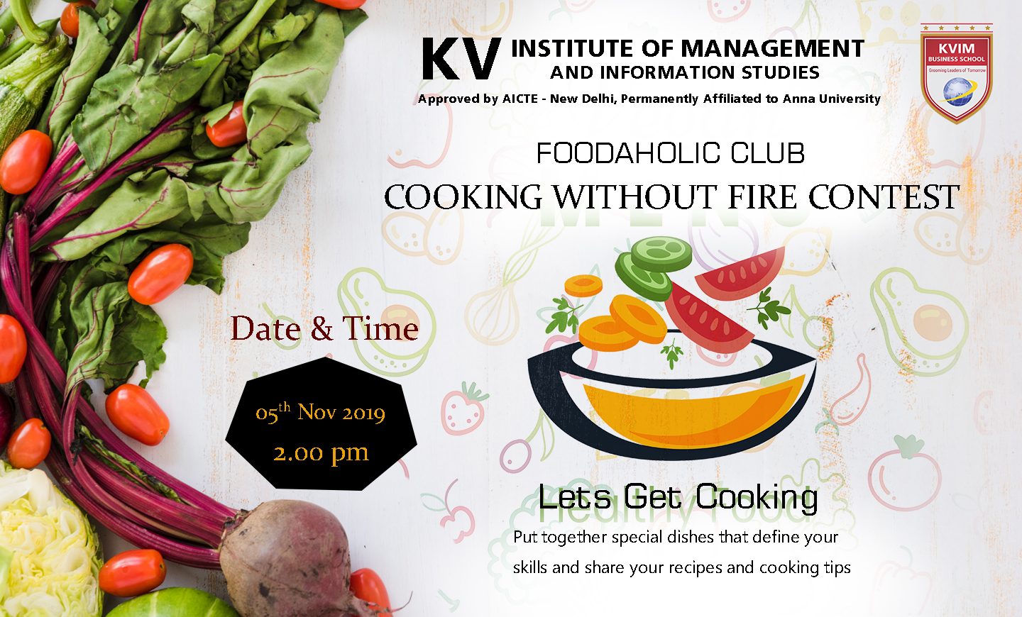 kvimis cooking without fire contest