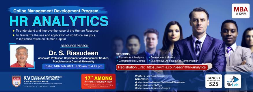 HR Analytics - KVIMIS EED program