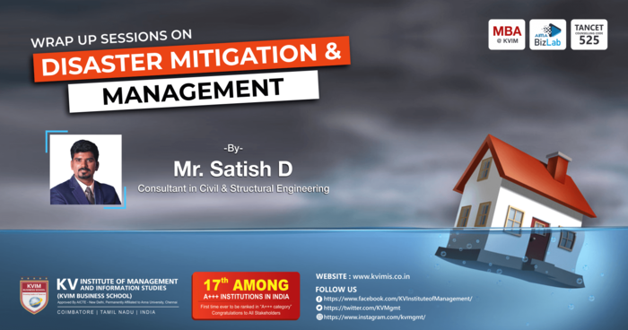 Wrap up Session 3 - Disaster Mitigation and Management