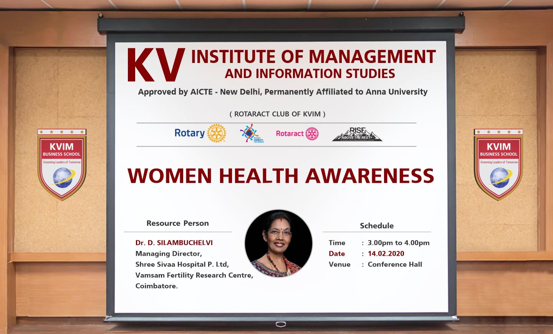 Kvimis women health awareness
