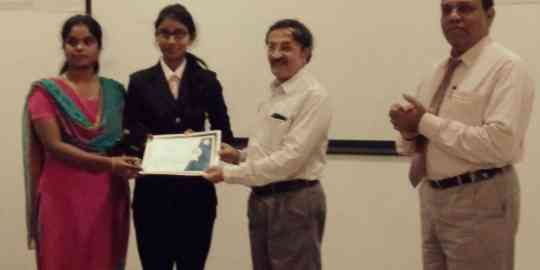 KVIMIS Award winner - B School , Coimbatore