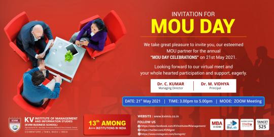 KV MOU Event