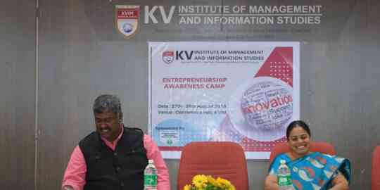 KVIMIS Entrepreneurship Awareness Camp