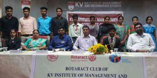 KVIMIS Rotaract Club- Bschool, Coimbatore