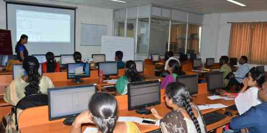 KVIMIS SPSS workshop - B School , Coimbatore