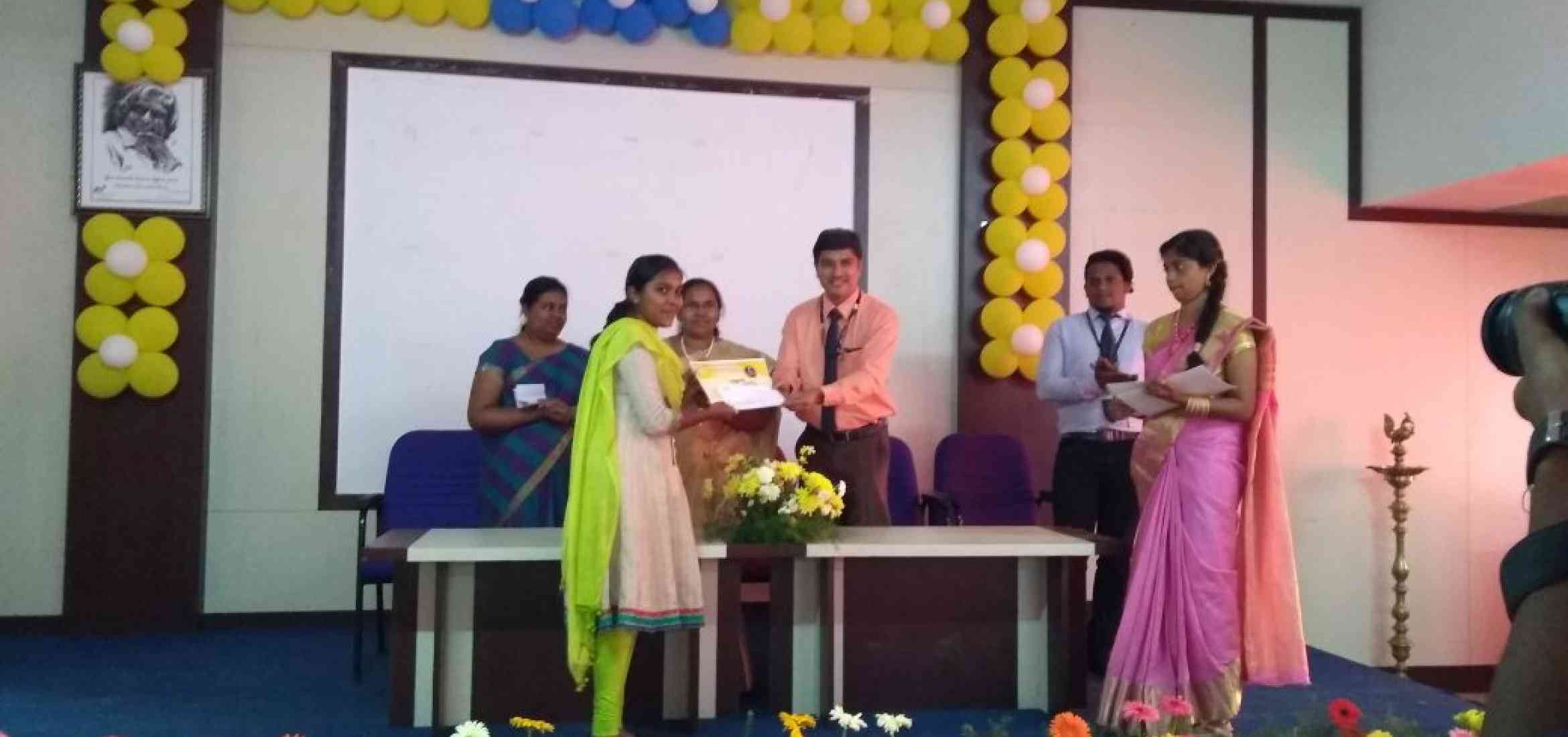 KVIMIS best manager Award - B School , Coimbatore