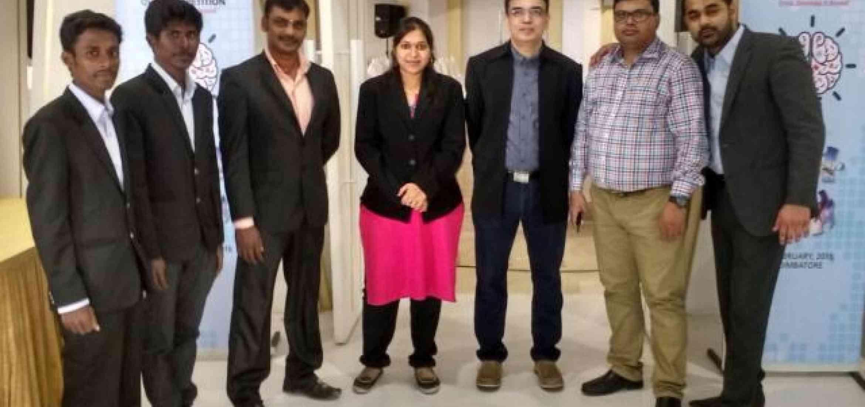 KVIMIS Interaction with Cambride University- B School , Coimbatore