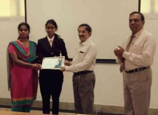 KVIMIS Award winner - B School , Coimbatore