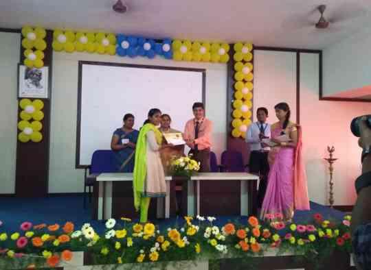 KVIMIS  best manager Award  - B School , Coimbatore